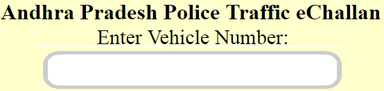 AP Traffic Police Fine E Challan Check Status Online and Pay