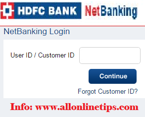 Change Registered Mobile Number HDFC Credit Card