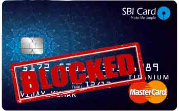SBI ATM card Block Online and by a Phone call Onlinesbi.com.