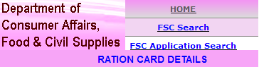 Telangana Ration Cards Check Status Online Download