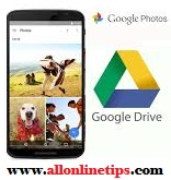 Upload Photos from Android Phone to Google Drive