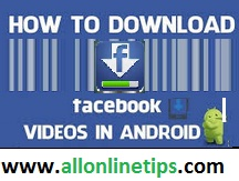 Download Facebook Videos in Android Mobile