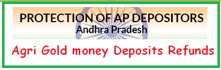 Upload Agri Gold Refund Money Deposits online @ cidap.gov.in