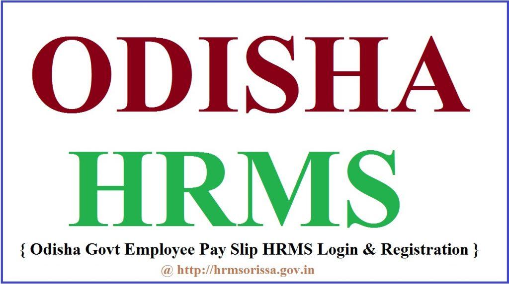 HRMS Odisha